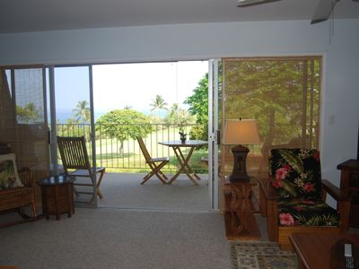 Kailua Kona condo rental - Open the door to a gorgeous ocean view!