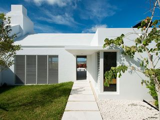 Providenciales - Provo villa photo - Private courtyard