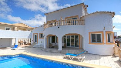 Fantastic sea views from the villa and swimming pool terrace