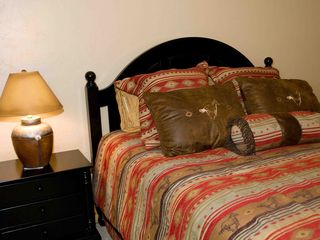 Seven Springs house photo - 1st floor queen bedroom off of Recreation Room with full bath