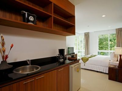 Surin beach apartment rental - Guestroom kitchenette