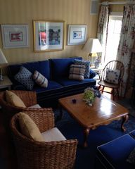 Surfside Nantucket house photo - Living room