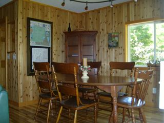 Crystal Mountain, Thompsonville cottage photo - Dining area with seating for up to 8 guests