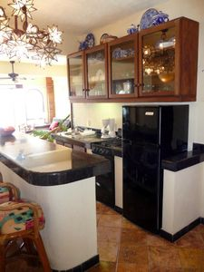 Puerto Vallarta condo rental - Kitchen and Island