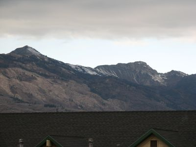 Views of Ben Lomond, Wolf Mountain and North Ogden Pass