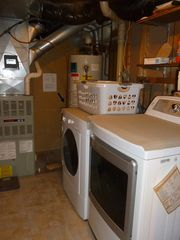 Conway chalet photo - Laundry Room (BRAND NEW full size washer and dryer)