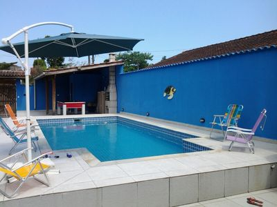 House in Boracéia II w / Pool 3 bedrooms w / 2 Suites, Pool Table, 4banheiro