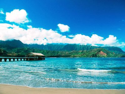 Hanalei Bay Pier (Minutes away)