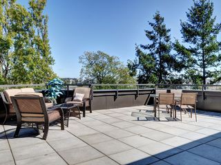 Victoria townhome photo - Private 700 sq foot patio where you can enjoy the sun as you look downtown.