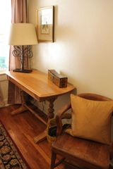 Tucson bungalow photo - Original 1920's furniture made it's way back to Villa Blanca in the study