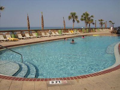 Gulf Crest has 2 large pools.