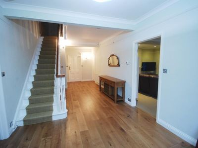 Bridport house rental - reception hall