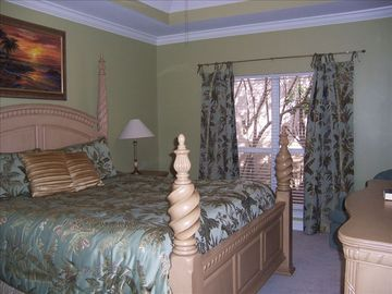 Beautifully appointed Master Suite with huge shower, and 2 vanities.
