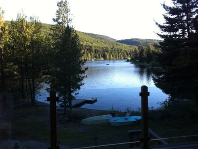 View of Osprey Lake from top deck