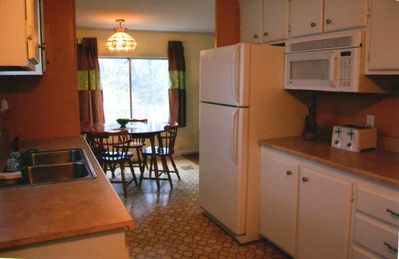 """ Newly remodled efficient full kitchen"""