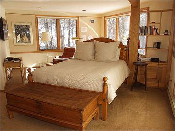 Master Bedroom overlooking the River