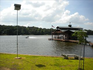 Lake Bob Sandlin lodge photo - Premier Lakefront Property with Private Boat House