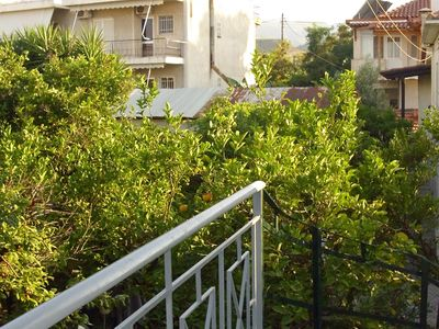 Holiday apartment on the top floor of a former farm, at just 100m from the beach!