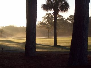 Harbour Town house photo - Pretty morning view of the golf course, just steps away.