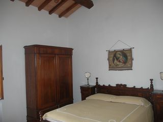 Fiesole villa photo - Erminia bedroom - traditional unseparable king bed