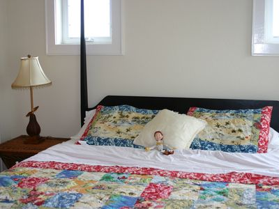 The Third Floor Master Bedroom (Jesse not included)