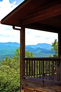 Overlook the Smoky Mountains