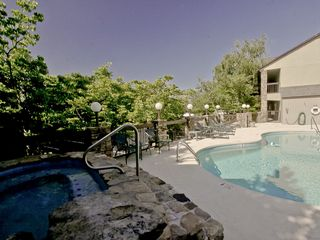 Gatlinburg condo photo - Hot Tub or Swim? Your choices... to RELAX