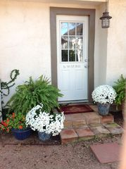 Fredericksburg cottage photo - Outside Entry