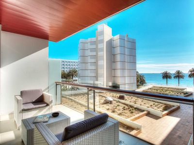 Amazing New 2015 Four Bedroom Apartment With Sea Views Across Bossa Beach