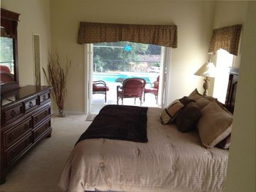 Master Bedroom, with French doors to Lanai