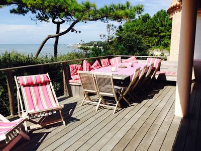 EXCEPTIONNAL  LARGE VILLA on the beach LE PLATIN
