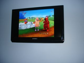 "Biloxi condo photo - Wall mounted 37"" LCD1080P HDTV in guest bedroom. All wiring in wall."