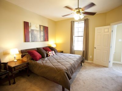 Master suite bedroom, luxury & comfort so close to all Austin has to offer.