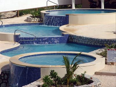 Refreshing! Invigorating! Inviting! 5 Pools & 3 Waterfalls cascade towards Ocean