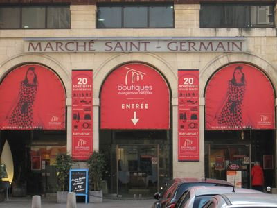 Marche St Germain nearby