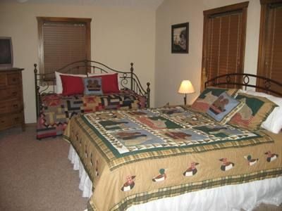 Second floor King Suites feature Twin Day Bed with Pop Up Trundle Bed.