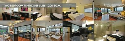 2 Bedrooms Penthouse Svc Apt