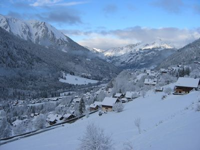 Chatel apartment rental - View from the apartment