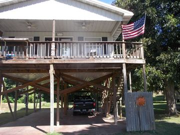 Hardy cabin rental - Front of House