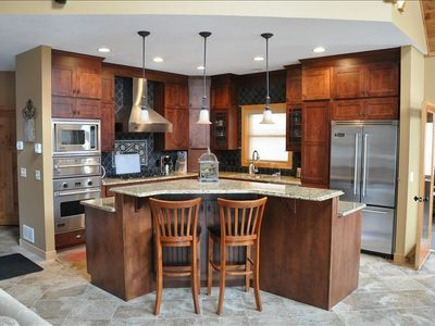 Very Well Equipped Kitchen with Viking Appliances Including Ice Maker