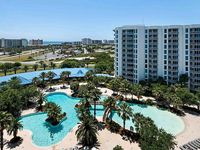 SPECTACULAR VIEWS OF THE GULF & LAGOON POOL FROM YOUR 10TH FLOOR BALCONY!