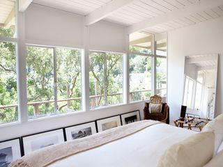 Sausalito house photo - Beach cottage in the trees open loft like living/kitchen/dining area
