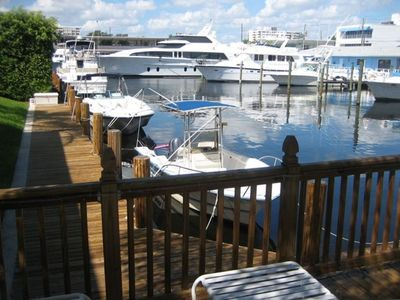 yacht basin in back yard