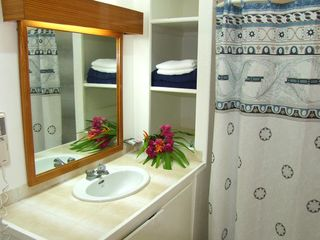 Marigot Bay apartment photo - Cute, Quaint, Equipped Bathroom