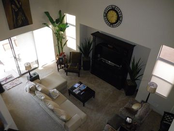 Litchfield Park house rental - Loft style ceiling in the living areas,