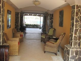 Jaco condo photo - Breezeway to pool