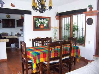 Puerto Vallarta villa photo - Dinning area with seating for six
