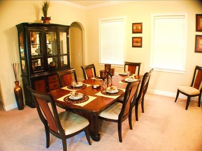 Reunion house rental - Dinning Room