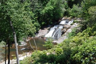 Lake Glenville house photo - Waterfall in summer