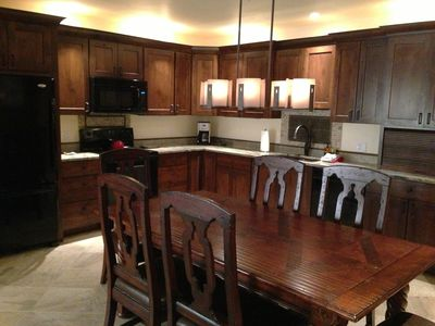 A view of our newly remodeled kitchen